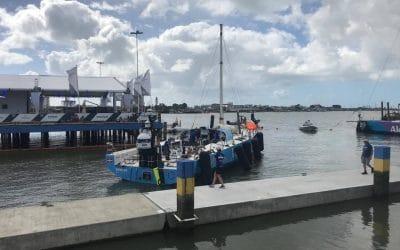 Race to the start for Vestas in the Volvo Ocean Race